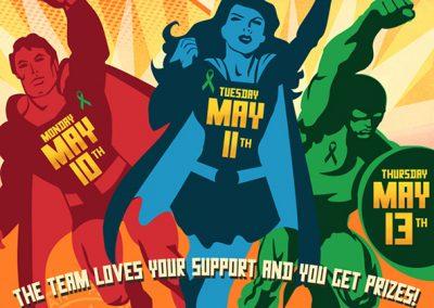 Ribbon Campaign: Superhero